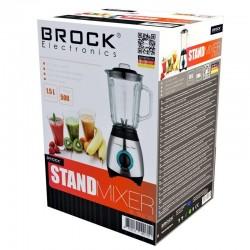 BROCK Blenderis. 1.5 L stikla trauks (BL 1502 SS)