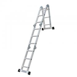 Multifunkcionālās kāpnes + platforma EN131 GS sertifikāts (6120)