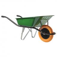 Ķerra CARGO MEDIUM 100, zaļa, poliuretāna ritenis (324007801) HAEMMERLIN