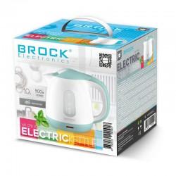 BROCK Tējkanna elektriskā, 1,0L, 900-1100W (WK 0716 AZ)