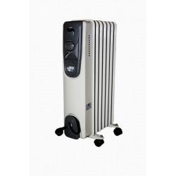 Eļļas radiators 7 sekcijas 1500W (4750959063712) Besk