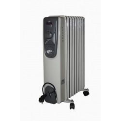 Eļļas radiators 9 sekcijas 2000W (4750959063729) Besk