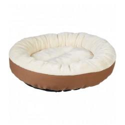 Suņu gulta, 50 x 50 x 15 cm, krēmbrūna (4862140651957)