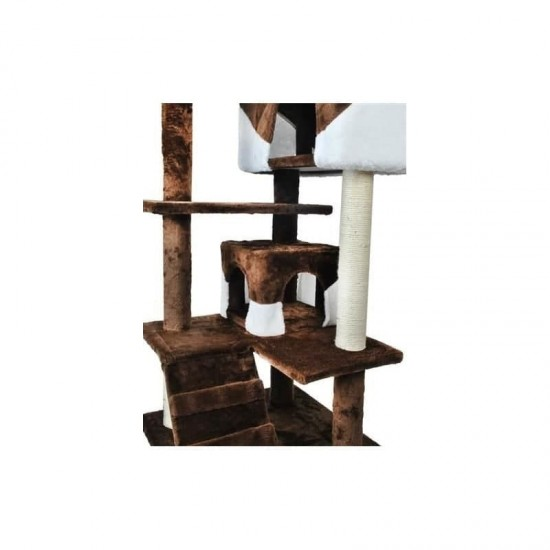 Kaķu skrāpis 120 cm – brūns (5752850256001)