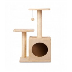 Kaķu skrāpis, 70cm, krēmkrāsā (6599510148837)