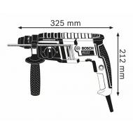 Perforators ar SDS plus stiprinājumu BOSCH GBH 2-20 D (061125A400)