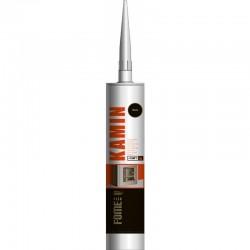 Hermētiķis karstumizturīgs, melns, 1500c, Kamin Fome Flex 300ml (01-4-2-007)
