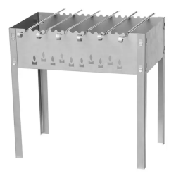 Grils MUSTANG Charcoal Grill With 6 Skewers (263591)