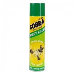 Aerosols pret rāpojošiem insektiem Super Cobra 400ml (9848)