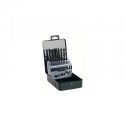 19-daļīgs urbju komplekts, HSS-R metālam (2607019435) Bosch