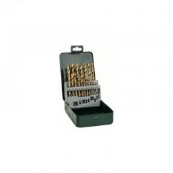 19-daļīgs HSS-TIN komplekts metālam (2607019437) Bosch