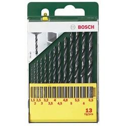 13 urbju komplekts, HSS-R metālam (2607019441) Bosch