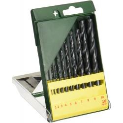 10 urbju komplekts, HSS-R metālam (2607019442) Bosch