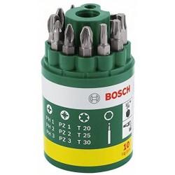10-daļīgs skrūvgriežu uzgaļu komplekts (2607019452) Bosch