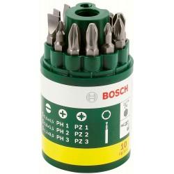 10-daļīgs skrūvgriežu uzgaļu komplekts (2607019454) Bosch