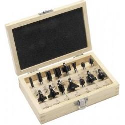 15-daļīgs frēžu komplekts, 6mm (2607019470) Bosch
