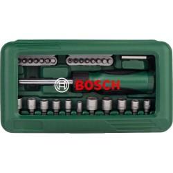 46-daļīgs skrūvgriežu uzgaļu komplekts (2607019504) Bosch