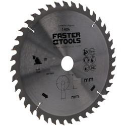 Zāģripa kokam 160X20mm, 40z (9654) Faster Tools