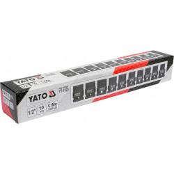 Triecienu Muciņas komplekts 10 - 22 mm 1/2'' Yato (1025-YT)